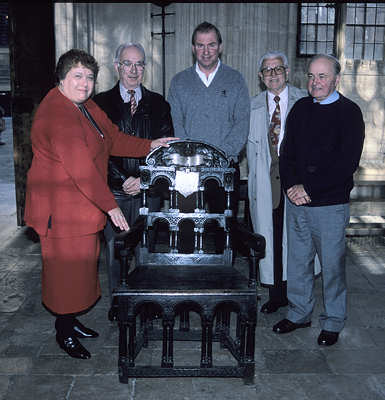 The founding members: Susan Jackson, Kenneth Salisbury, Michael Turner, Harry Wilson and John Thrower