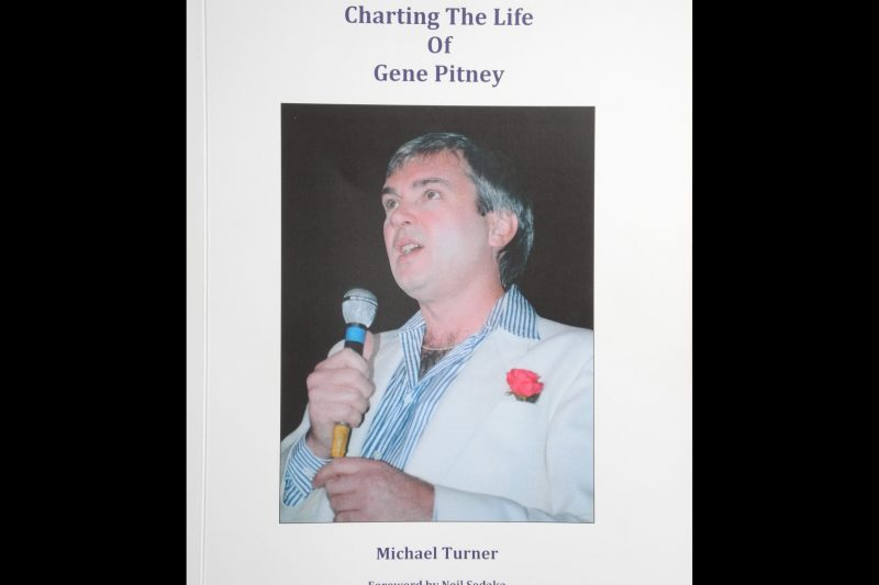 "The cover of the book ""Charting the life of Gene Pitney"" by Michael Turner"